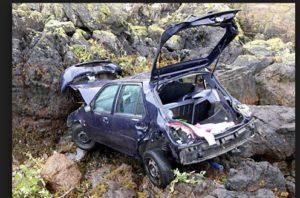 Chamba-Pathankot National Highway Car Accident