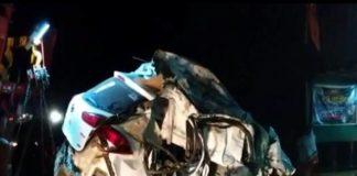 car-bus collision