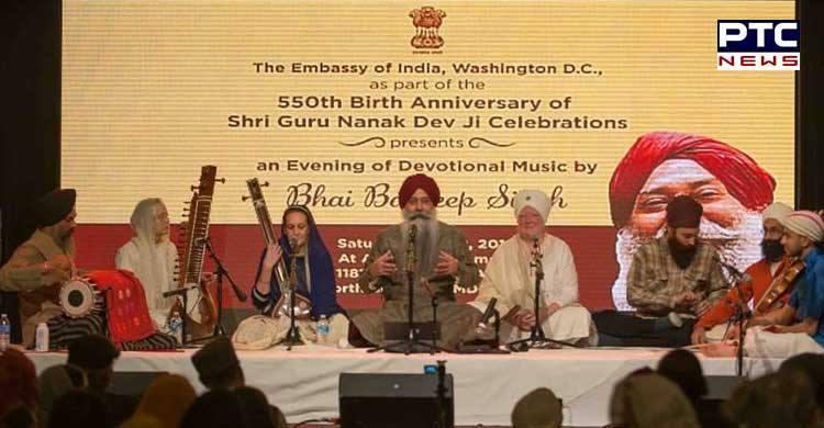 Indian Embassy organizes Sikh Shabad Kirtan Darbar