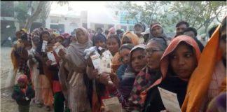 Punjab Panchayat elections Punjab 8 districts 14 places Re-polling started