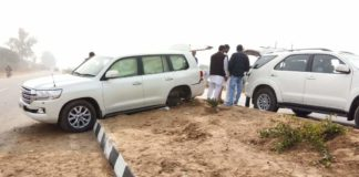 Ajay Chautala escapes unhurt in road mishap