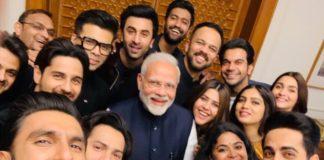 Ranveer, Alia and other Bollywood stars meet PM Modi