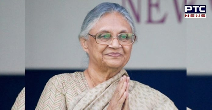 Former Delhi CM Shiela Dikshit appointed as Delhi Congress Chief