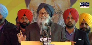Parkash Singh Badal hits out at Congress for betraying people of Punjab