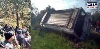 Himachal Pradesh : Several passengers injured after HRTC bus crashes into tree