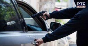 Man robbed off car at gunpoint in Moga