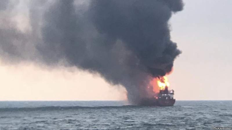 Ship-wreck involving 15 Indians in Russia