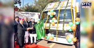 Capt Amarinder Singh Rural Health Services 70 IEC vans flagged
