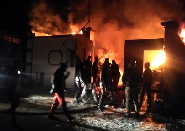 Fire breaks out in leather complex in Jalandhar