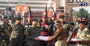 Atari Wagah border BSF and Pak Rangers sweets