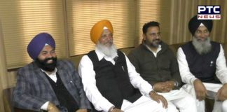 Jathedar Hira Singh Gabria Patiala Four assembly SAD workers Meetings