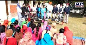 Harsimrat Kaur Badal Talwandi Sabo Nanhi Chhaan' Sewing Center Start