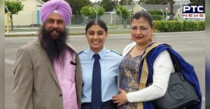 Ravinderjit Kaur Phagwara New Zealand Air Force First Punjaban Girl