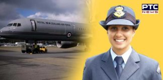 Ravinderjit Kaur Phagwara New Zealand Air Force First Punjaban Girl