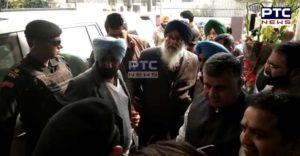 Punjab EX CM Parkash Singh Badal Today Mandi Gobindgarh Arrived