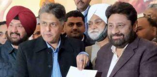 After Navjot Kaur Sidhu , former Ludhiana MP Manish Tiwari seeks congress ticket from Chandigarh parliamentary seat