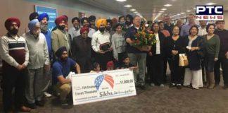 Sikh community donates $11,000