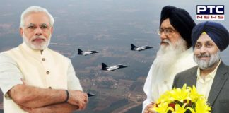 Badal, Sukhbir salute IAF