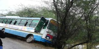 Roadways Bus Accident