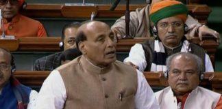 CBI-Kolkata police standoff echoes in Parliament; threat to federal system,says Rajnath
