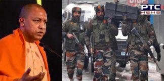 Pulwama terror attack : UP CM Yogi Adityanath announces 25 Lakh ex gratia for soldiers martyred