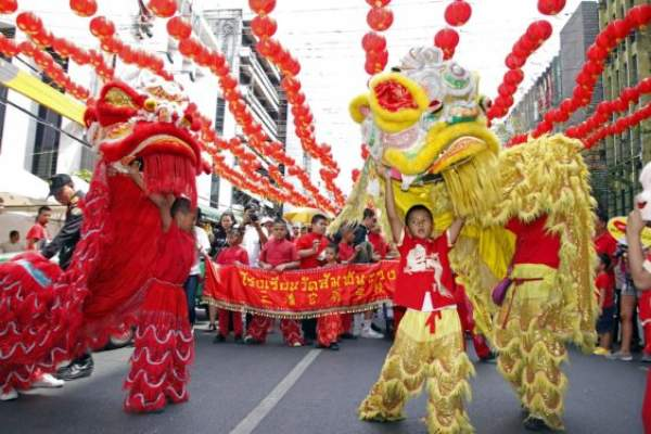 China all decked up to welcome 'Year of the Pig'