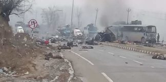 Explosion on CRPF convoy in Pulwama was heard 10 km away: Locals