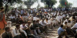 Gujjars begin dharna on rail tracks in Rajasthan over quota