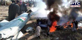 IAF Mi-17 chopper crashes