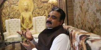 Newly elected Jind MLA Krishan Middha takes oath