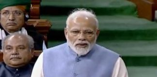 PM Modi pitches for a majority govt in Lok sabha