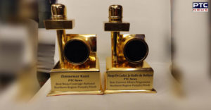 PTC News wins big at ENBA Awards; bags Best news coverage in northern region award, one more