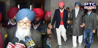 Parkash Singh Badal Navjot Sidhu Against sedition Case registration Demand