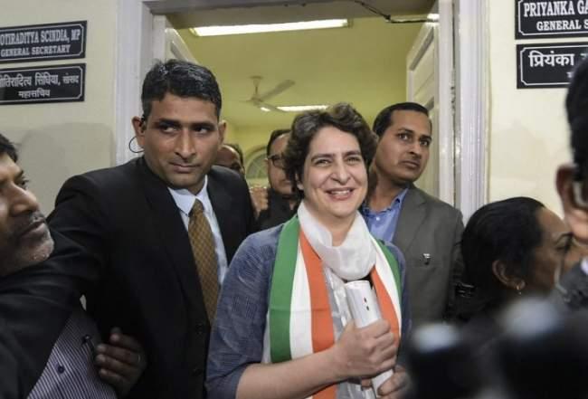 Priyanka Gandhi Vadra assumes charge as AICC general secretary