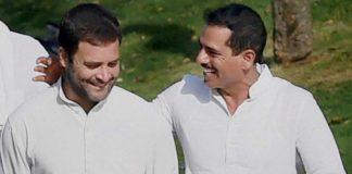 Rahul Gandhi & Robert Vadra