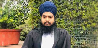 Security personnel barred Sikh Advocate