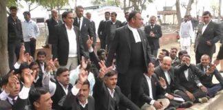 Advocates Strike