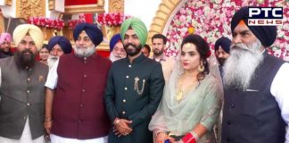 Arvind Kejriwal attends AAP MLA Baljinder Kaur reception