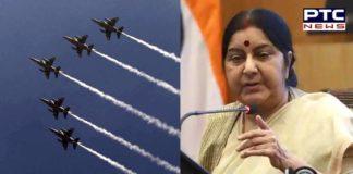 Sushma Swaraj calls