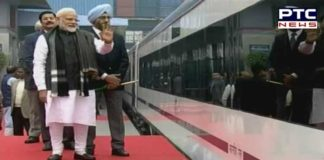 PM Narendra Modi flags off Vande Bharat Express in New Delhi