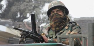 Nitin Gadkari honours two brave Indian Army martyrs