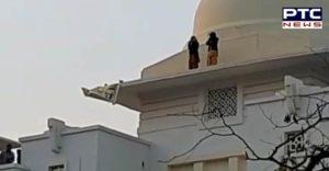 Patiala Rajindra Hospital roof 2 nurses jump ,hospital Admitt