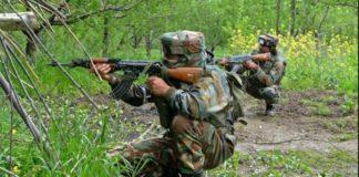 Jammu Kashmir Shopian Indian army 2 terrorists Encounter