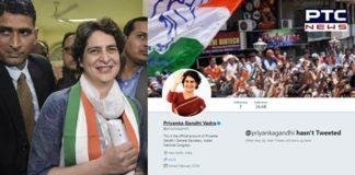 Priyanka Gandhi Vadra joins Twitter, accumulates 37,000 followers in minutes