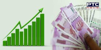 In opening trade , Rupee gains 6 paise against dollar