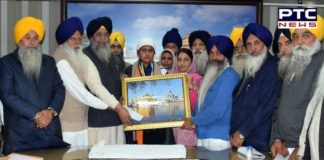 Bhai Gobind Singh Longowal Student Mandeep Kaur game national level winning silver medal Honored