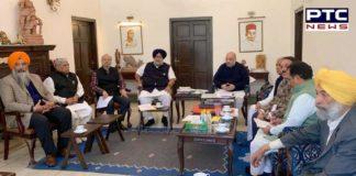 Sukhbir Badal Lok Sabha elections bjp president Amit shah With Visit
