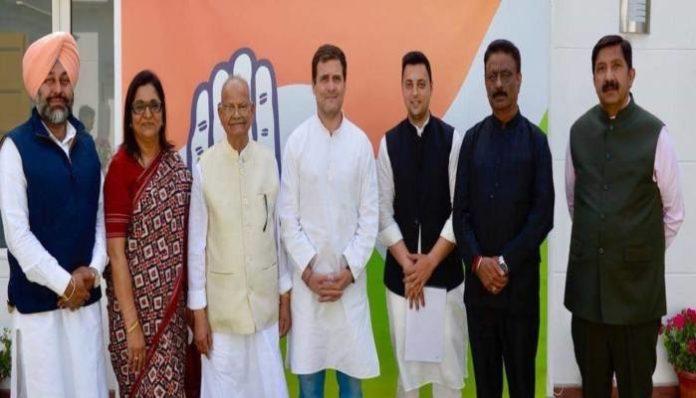 Ashray Sharma Joins Congress