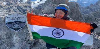 Mamta Sodha climbs Oceanias highest peak