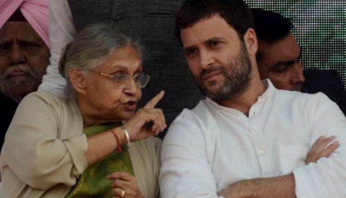 Rahul Gandhi- Sheila Dikshit